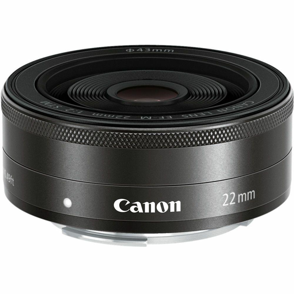 Canon EF-M 22mm f/2 STM fiksni širokokutni objektiv prime lens 22 F2.0 (5985B005AA) - CASH BACK promocija povrat novca u iznosu 150 kn
