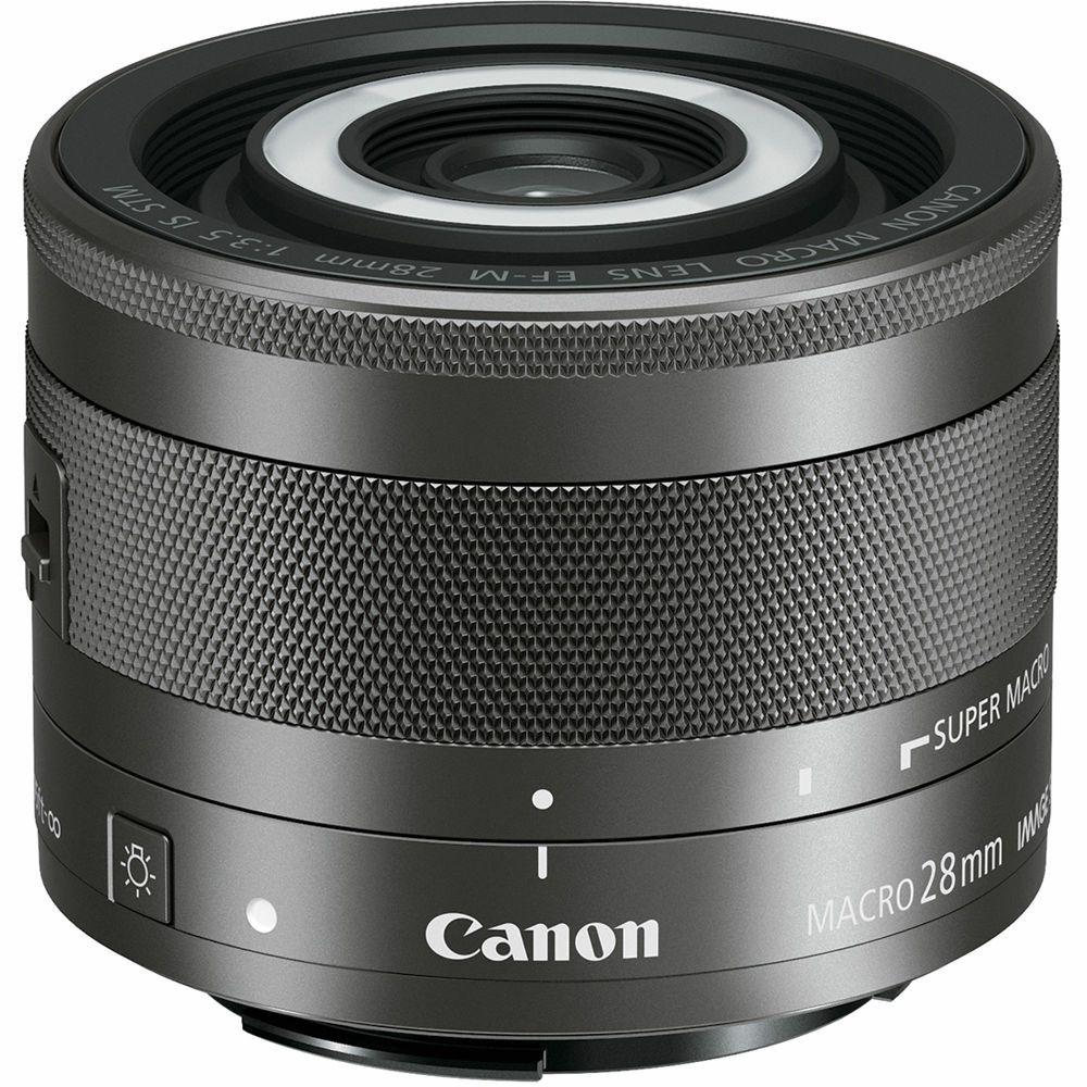 Canon EF-M 28mm f/3.5 Macro STM macro objektiv za EOS M (1362C005AA) - ZIMSKA PONUDA