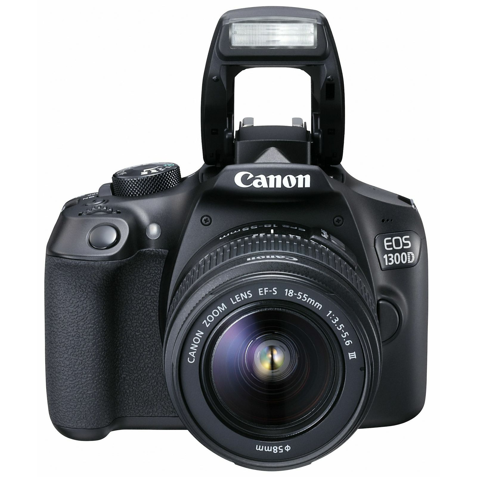 Canon EOS 1300D 18-55 DC III DSLR Digitalni fotoaparat + objektiv 18-55 F3.5-5.6 (AC1160C009AA)