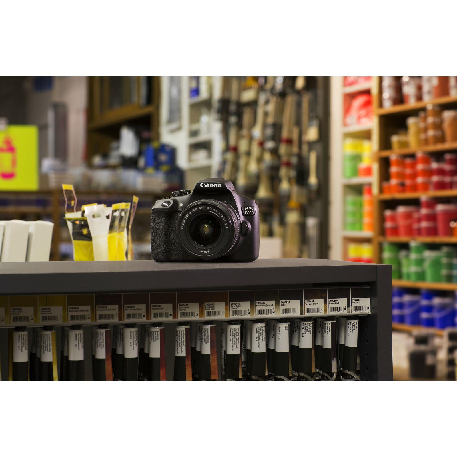 Canon Eos 1300d 18 55 Dc Iii Dslr Digitalni Fotoaparat Objektiv Kit