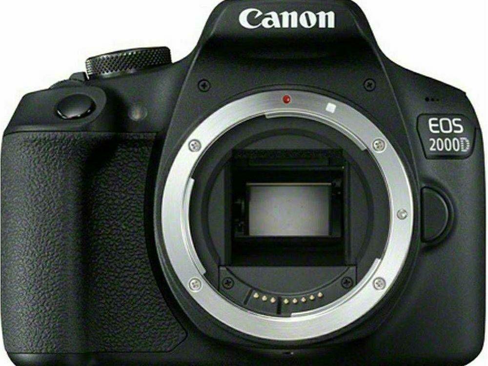 Canon EOS 2000D Body Black DSLR Digitalni fotoaparat tijelo (2728C026AA) - INSTANTUŠTEDA