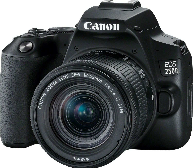 Canon EOS 250D + 18-55 IS STM Black DSLR Digitalni fotoaparat s ...