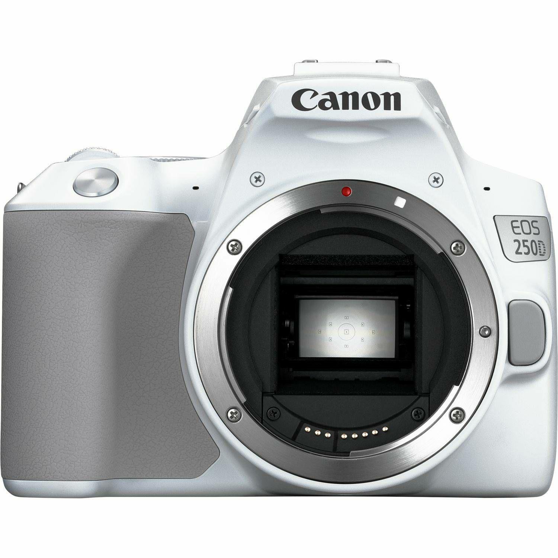 Canon EOS 250D + 18-55 IS STM White DSLR Digitalni fotoaparat s objektivom EF-S 18-55mm f/4-5.6 (3458C003AA)