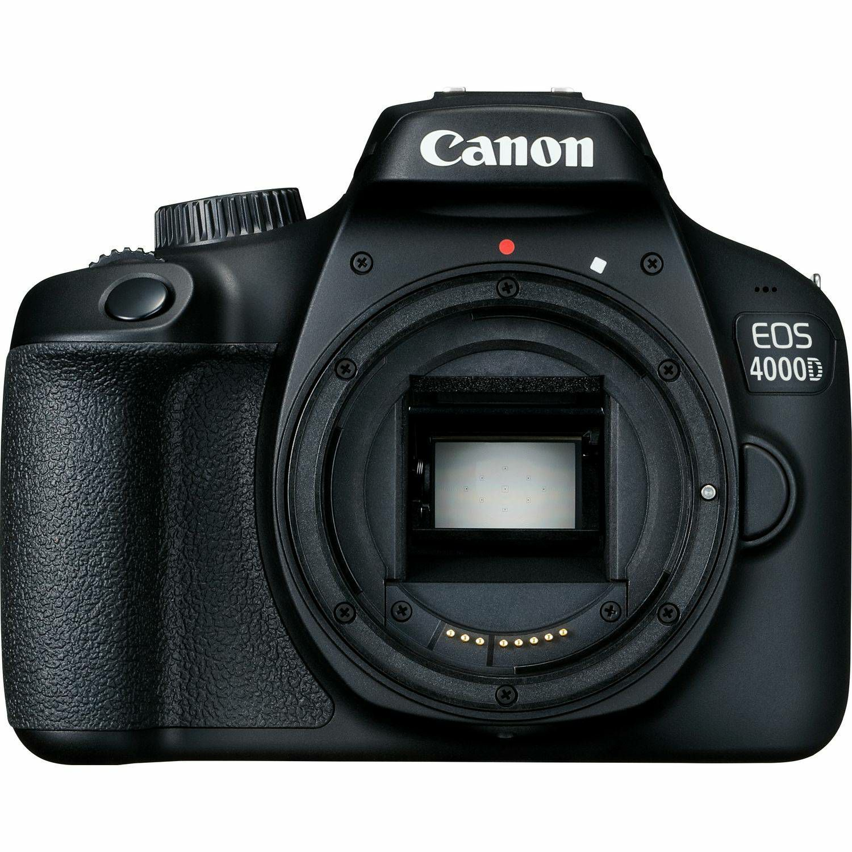 Canon EOS 4000D Body Black DSLR Digitalni fotoaparat tijelo (3011C016AA)