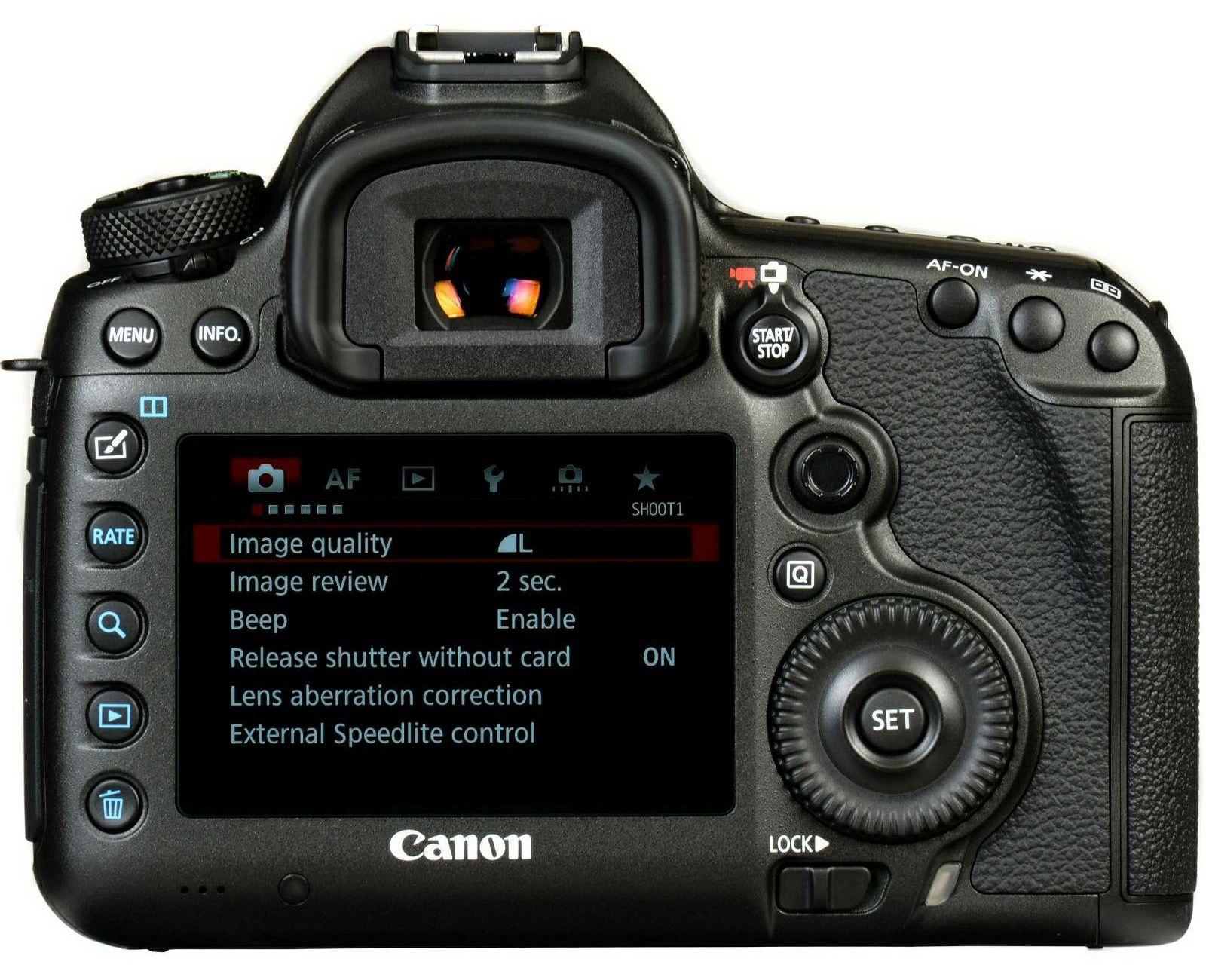 Canon EOS 5Ds R Body DSLR digitalni fotoaparat 5Dsr (0582C004AA) - CASH  BACK promocija povrat novca u iznosu 1500 kn