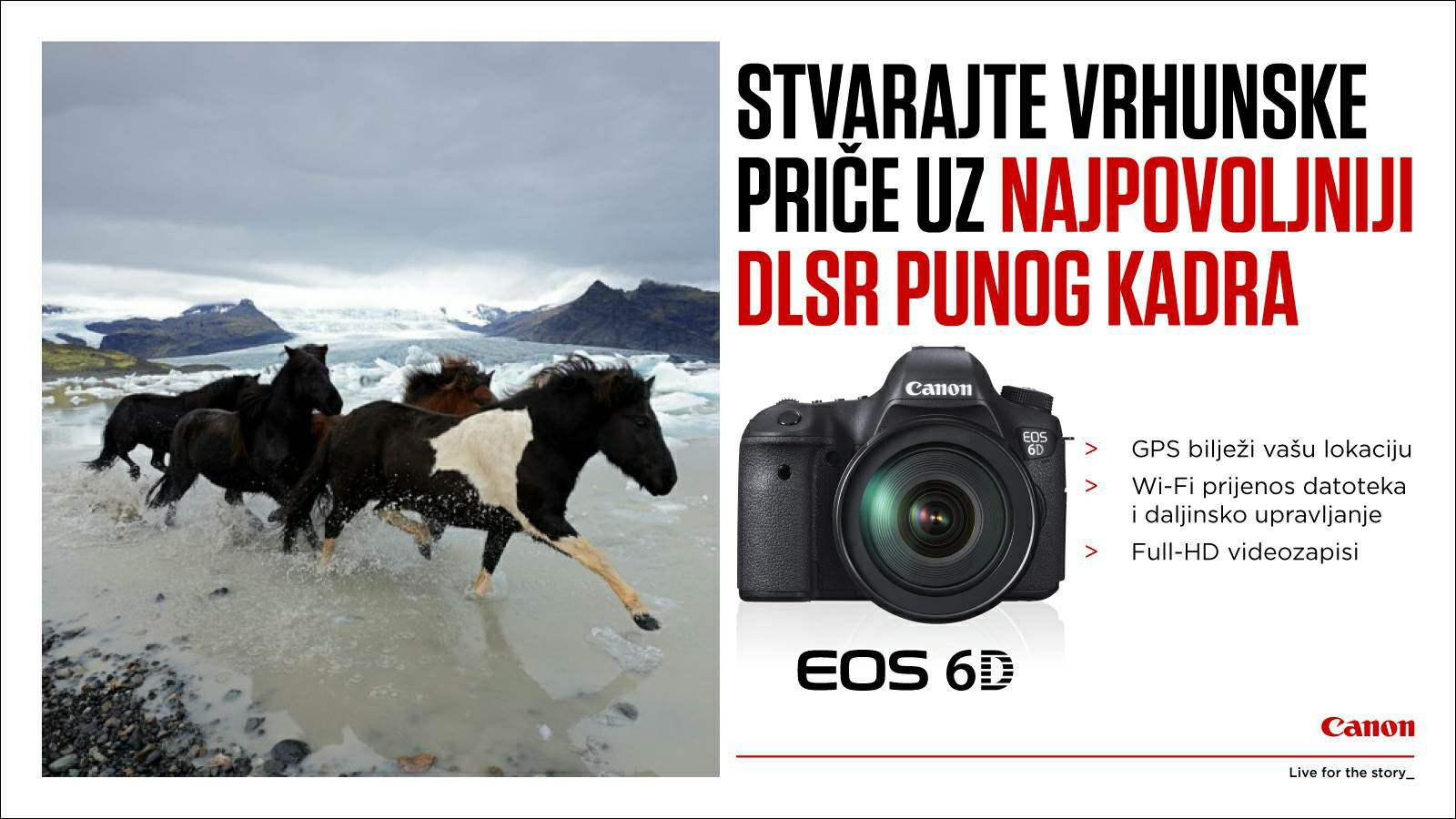 Canon EOS 6D Body GPS WIFI DSLR digitalni fotoaparat s Full
