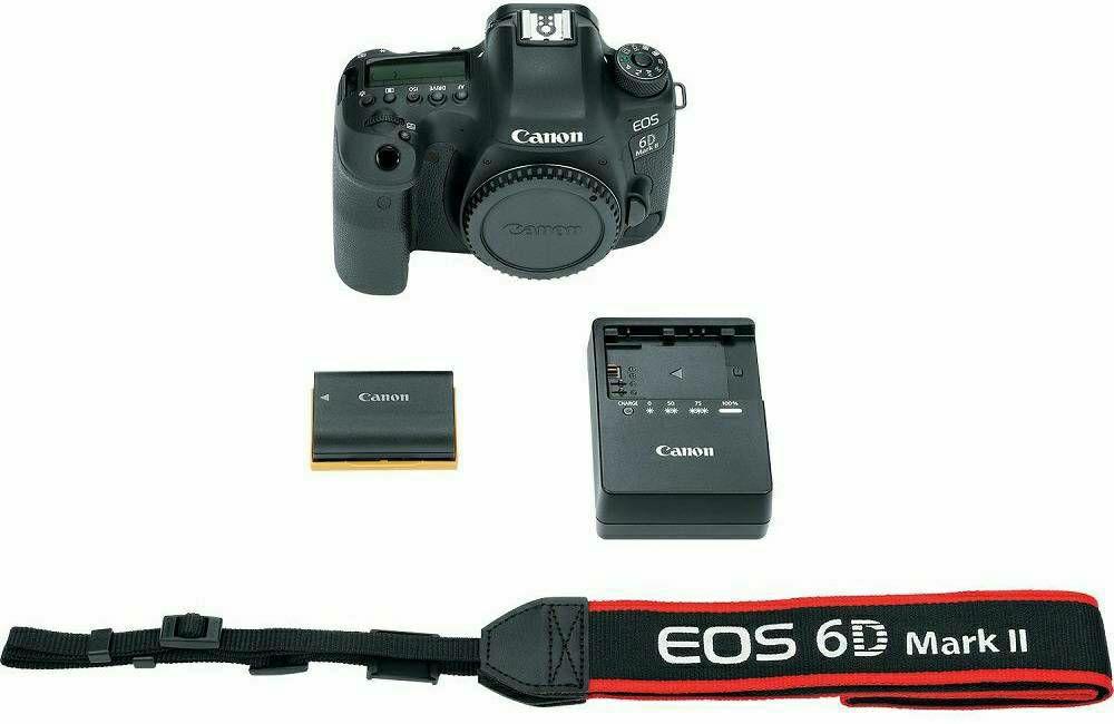 Canon EOS 6D Mark II Body Black DSLR Full Frame Digitalni fotoaparat ...