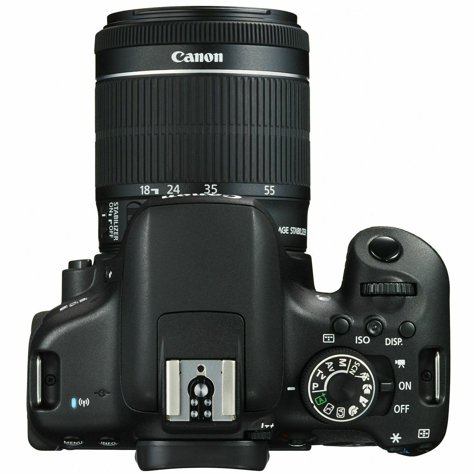 Canon Eos 750d 18 55 Is Stm 50mm Dslr Digitalni Fotoaparat Lensa Ef F S Dva Objektiva 55mm 35 56 I 50 0592c077aa