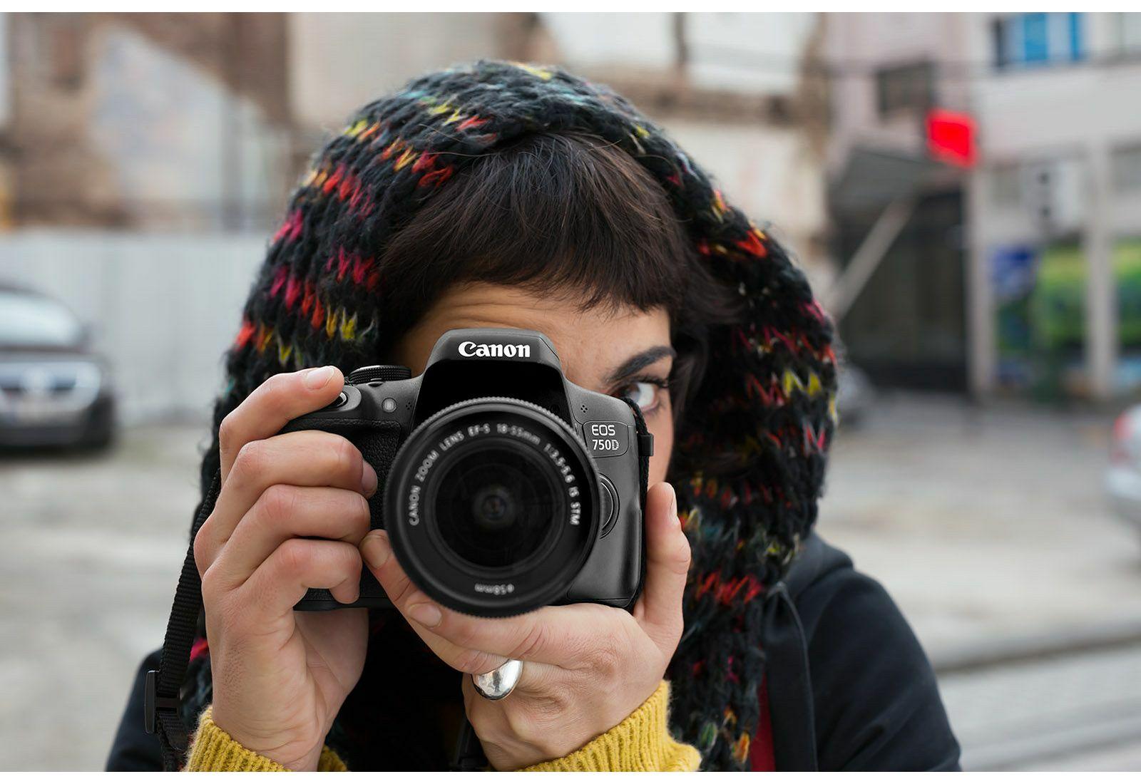 Canon Eos 750d 18 55 Is Stm Dslr Digitalni Fotoaparat S Objektivom 760d Body Only Camera 760 Bo Ef 55mm F 35 56 0592c005aa