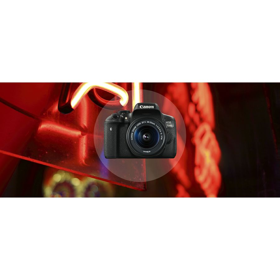 canon eos 750d body dslr digitalni fotoaparat tijelo. Black Bedroom Furniture Sets. Home Design Ideas
