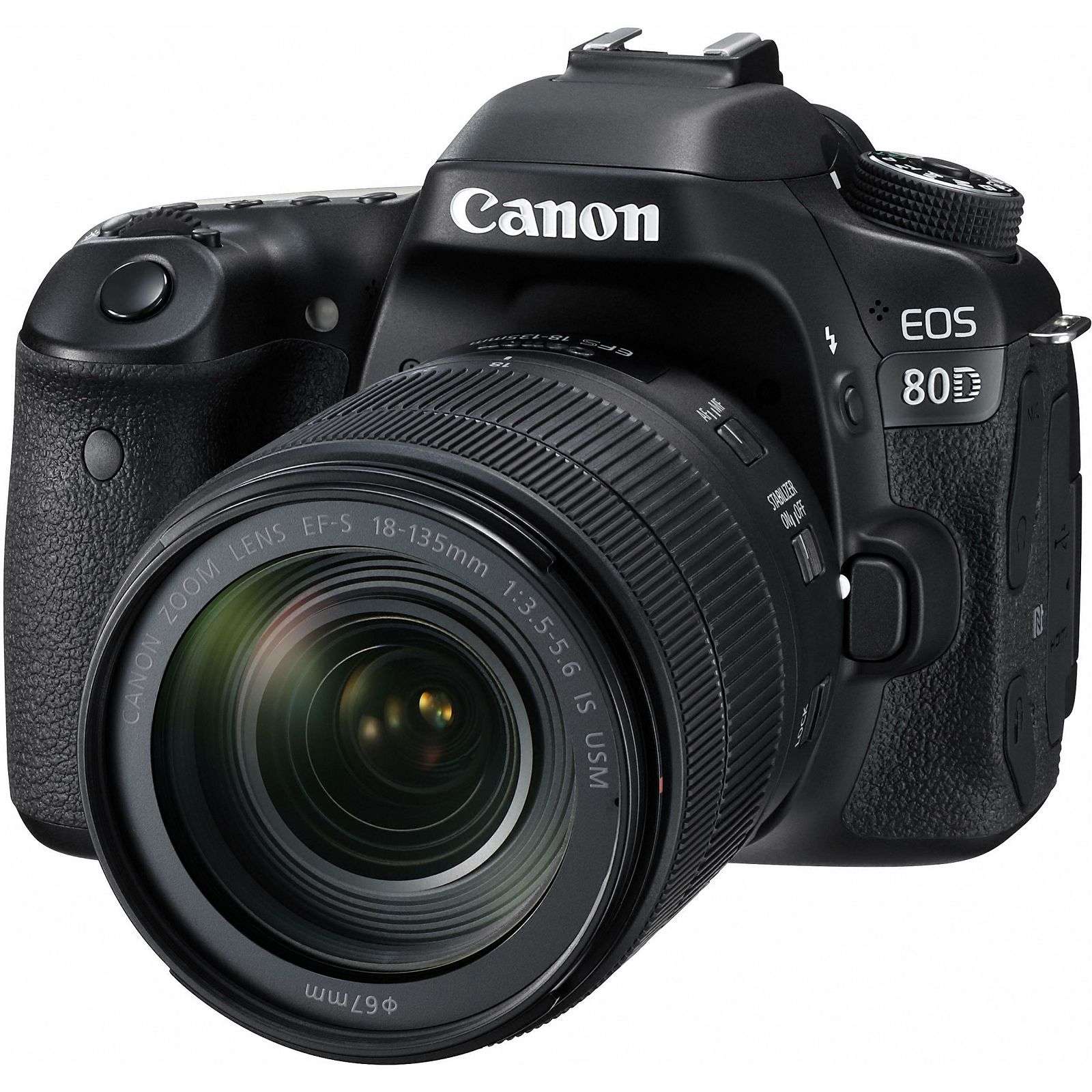 Canon EOS 80D + 18-135 IS USM NANO DSLR digitalni fotoaparat s objektivom 18-135mm f/3.5-5.6 (1263C012AA) - GetReady