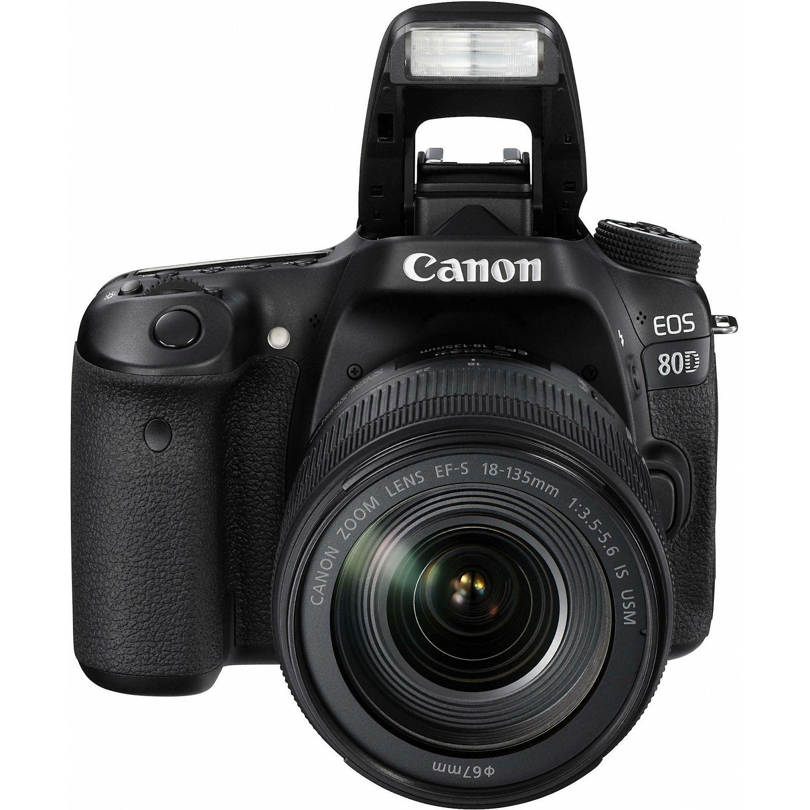 Canon Eos 80d 18 135 Is Usm Nano Dslr Digitalni Fotoaparat S 700d Kit 135mm F 35 56 Stm Objektivom