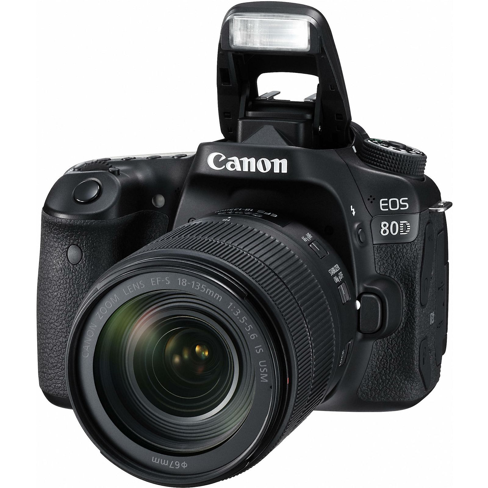 ... Canon EOS 80D + 18-135 IS USM NANO DSLR digitalni fotoaparat s objektivom 18 ...