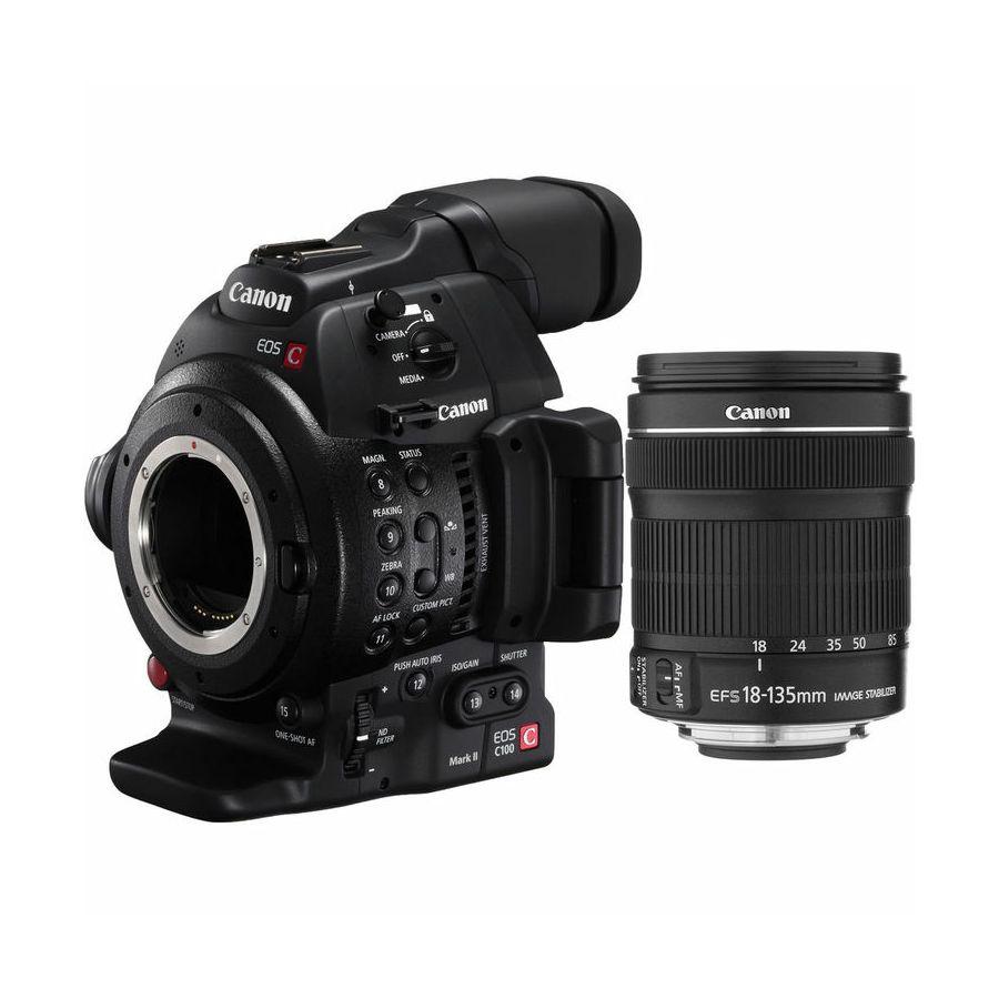 Canon EOS C100 II + 18-135 KIT Cinema Camera profesionalna