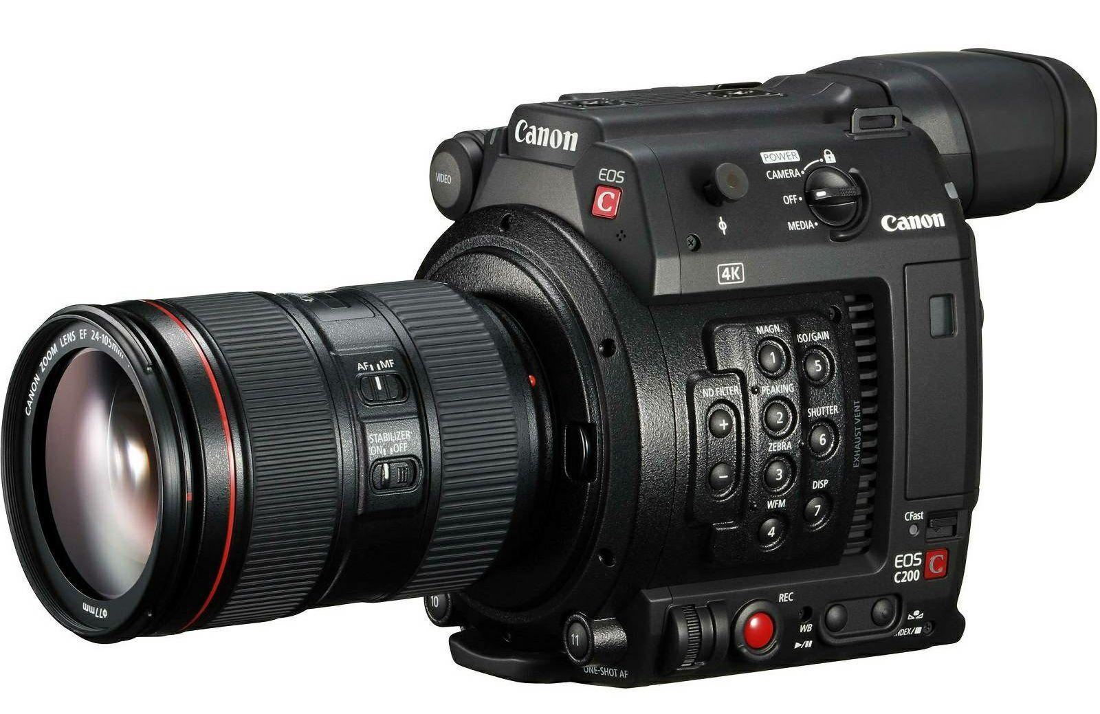 Canon EOS C200 + EF 24-105mm f/4L IS II USM KIT Cinema