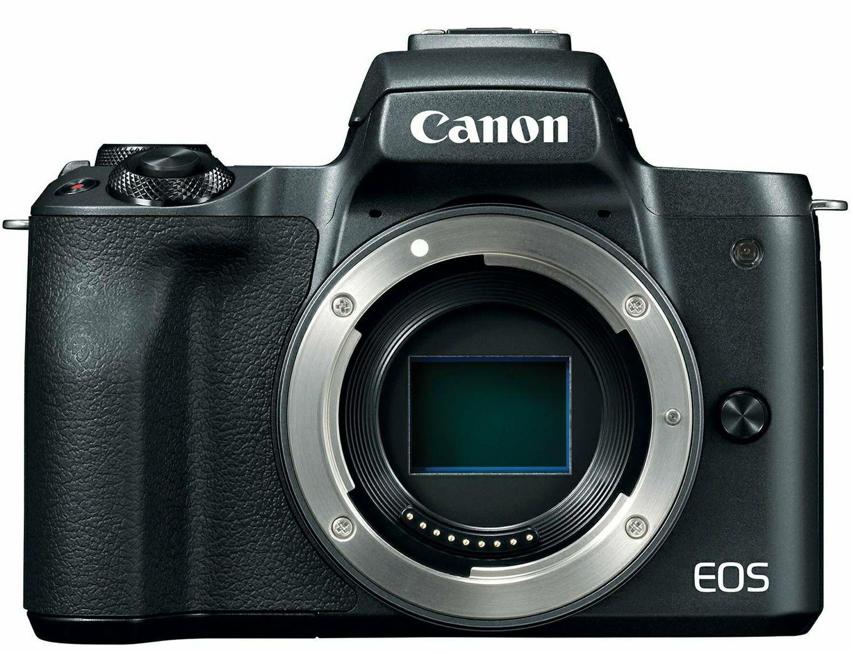 Canon EOS M50 Body Black Mirrorless Digital Camera crni Digitalni fotoaparat tijelo (2680C069AA)