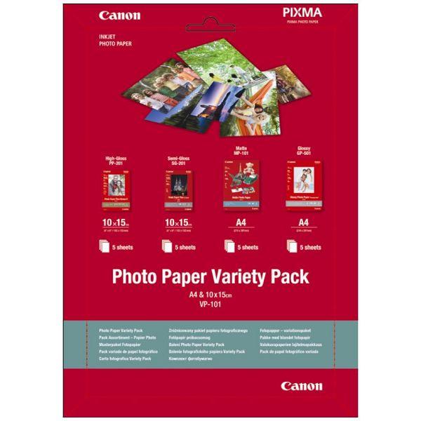 Canon Photo Paper Komplet 10X15 + A4 - 20 listova