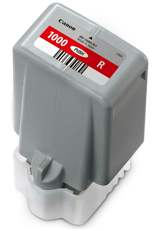 Canon Pigment Ink Tank PFI-1000 Lucia PRO Red 80ml PFI1000R crvena tinta za printer imagePROGRAF PRO-1000 (0554C001AA)