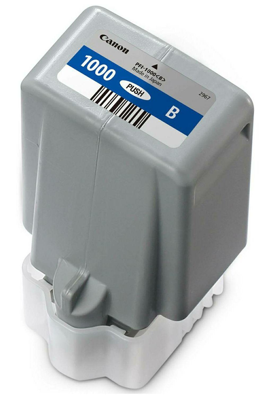 Canon Pigment Ink Tank PFI-1000 Lucia PRO Blue 80ml PFI1000B plava tinta za printer imagePROGRAF PRO-1000 (0555C001AA)