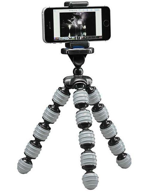 Cullmann Alpha 350 Mobile Grey 23cm 1kg Minitripod Gorillapod Flexible Tripod zglobni podesivi stativ s držačem za mobitel smartphone (50023)