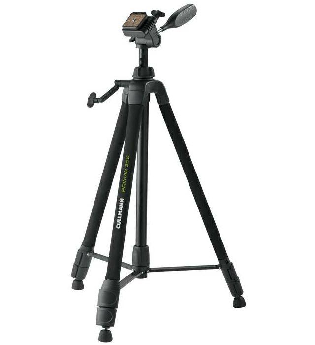 Cullmann Primax 380 159cm 3.5kg Aluminium tripod tronožac aluminijski stativ + 3-Way Head glava (51381)