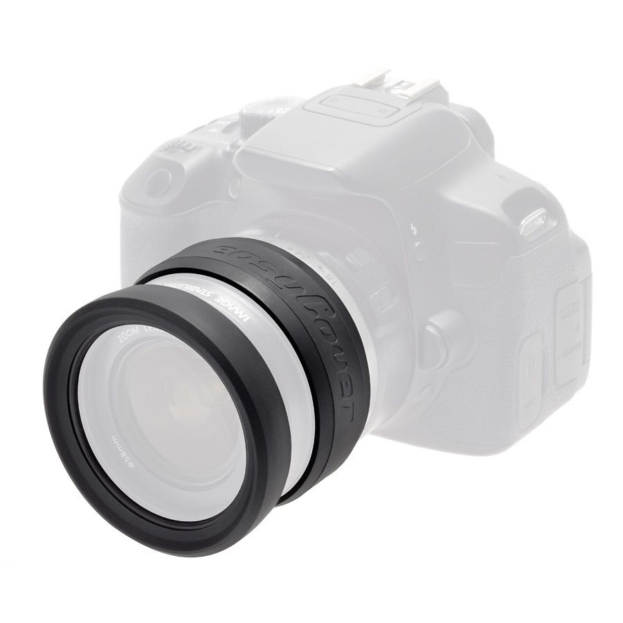 Discovered easyCover Lens Rims 67mm crni zaštitni gumeni prsten za objektive (ECLR67)