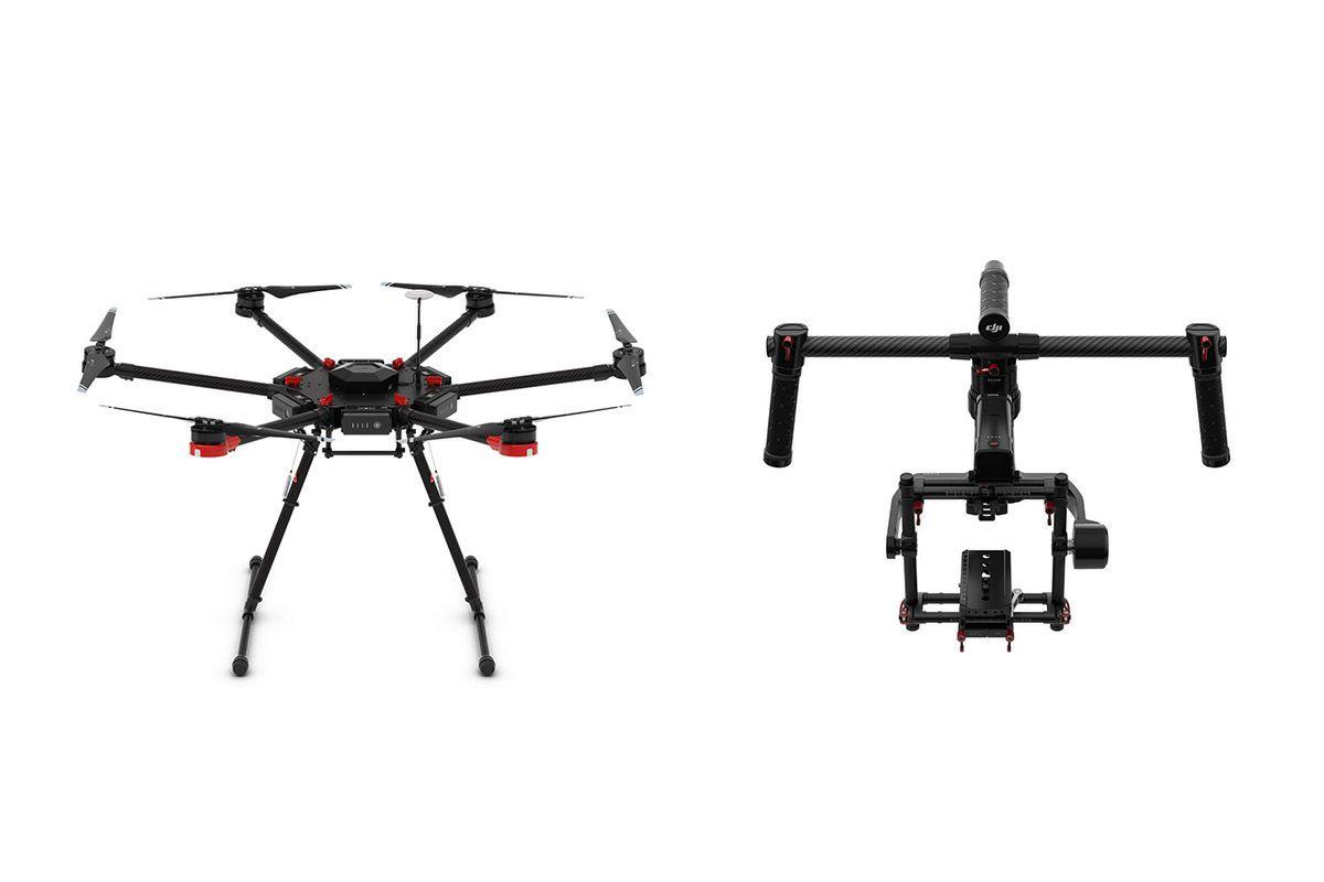 DJI Matrice 600 + Ronin-MX komplet dron sextocopter + 3D gimbal za kamere i DSLR