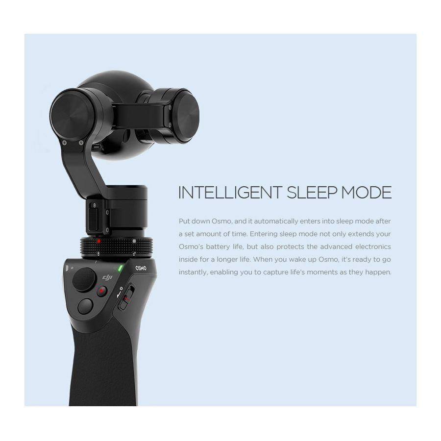 Dji Osmo Handheld 4k Camera And 3 Axis Gimbal Stabilizator Kamera I Osni Handle Ruka Mobile Device Holder Dra Za Mobitel