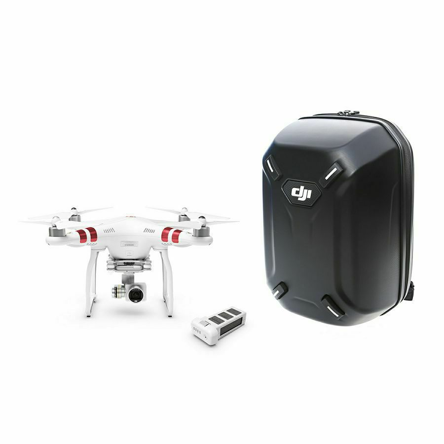 Dji Phantom 3 Standard Extra Jupio Baterija Backpack Combo Drone With One Battery 27k Video Camera White Quadcopter Dron Za Snimanje Iz Zraka S 3d Gimbalom Osna Stabilizacija I Kamerom