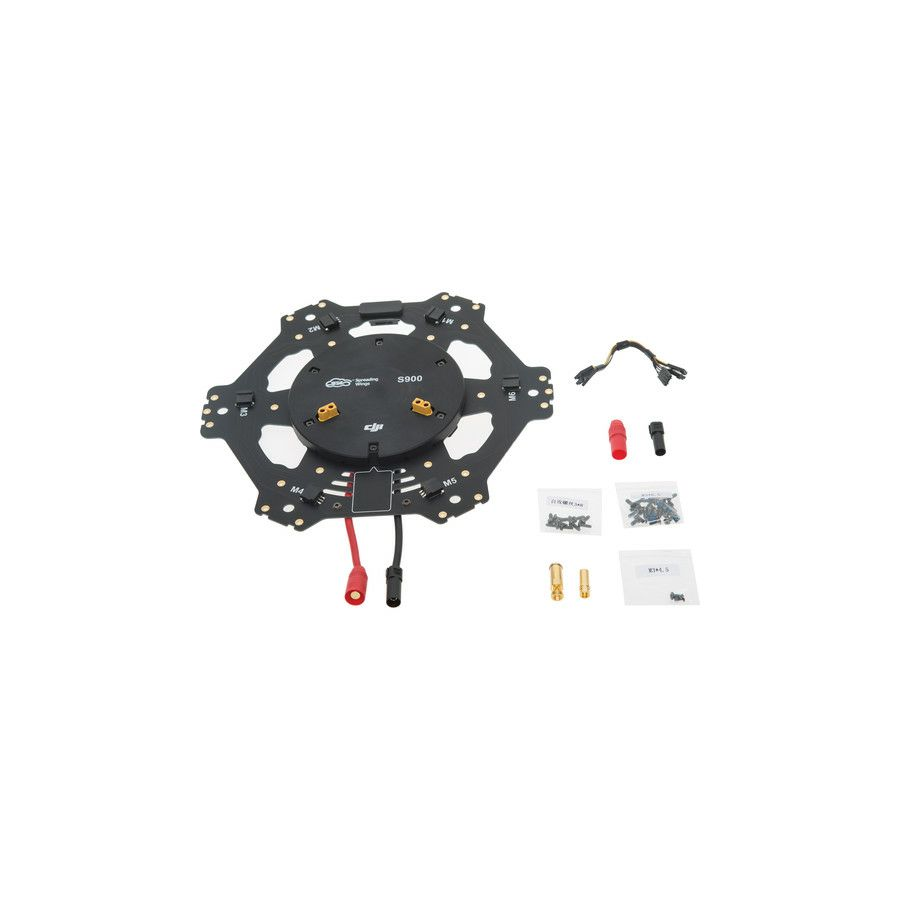 DJI S900 Spare Part 14 Center Frame Bottom Board For DJI Spreading Wings S900 Hexacopter dron Professional Aircraft multi-rotor