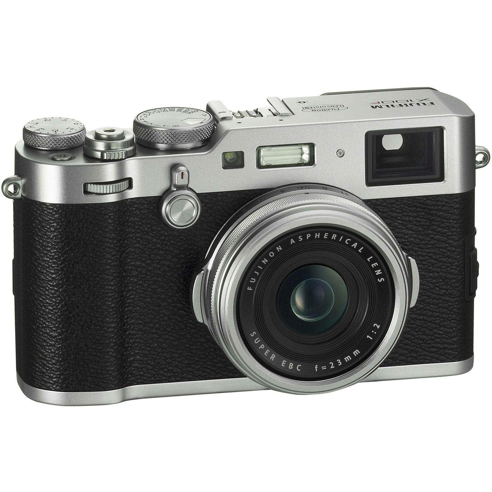 Fujifilm X-100F Silver digitalni fotoaparat s integriranim objektivom  Srebreni Fuji X100F
