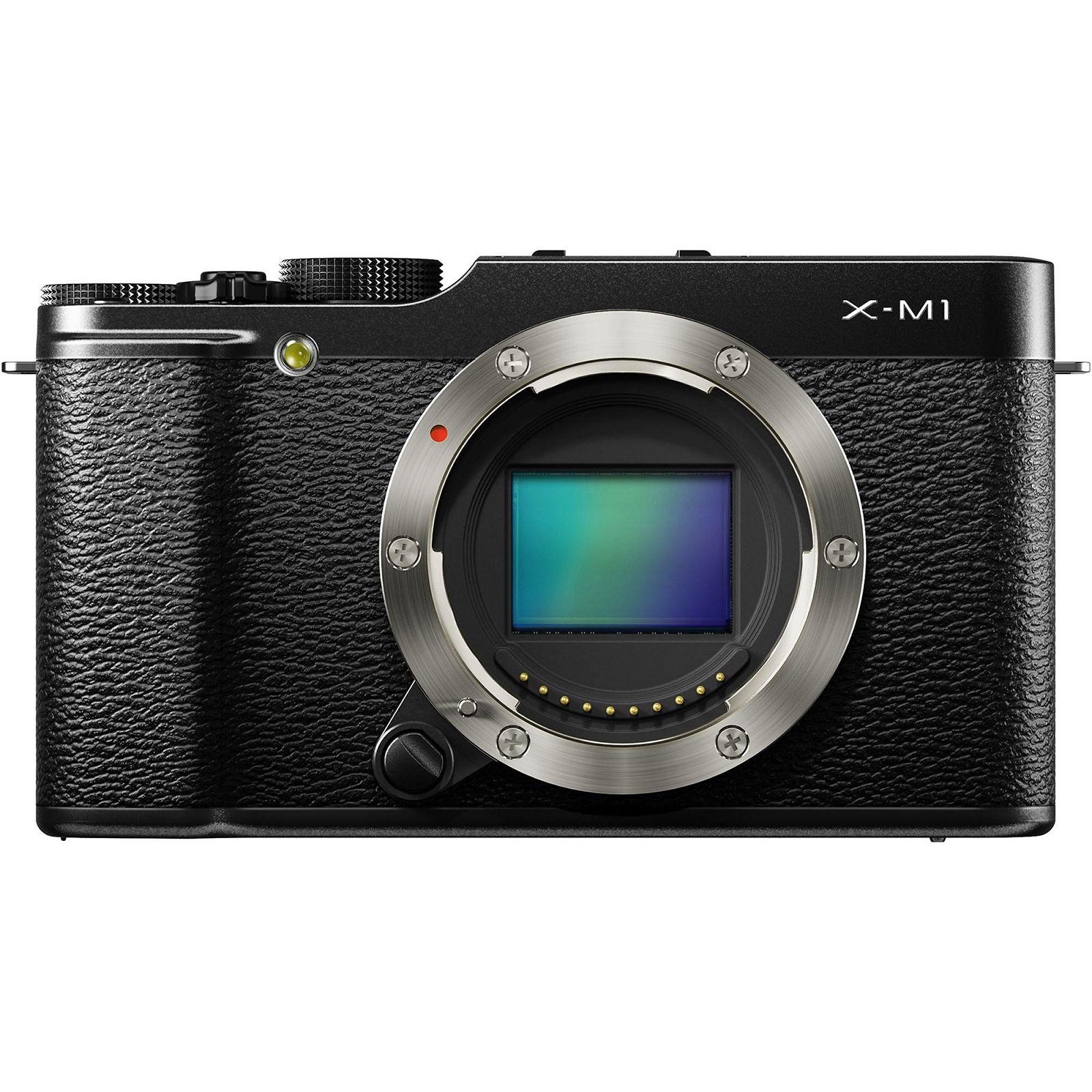 Fujifilm X-M1 Body Digitalni fotoaparat Mirrorless camera Fuji Finepix XM1 16MP APS- Trans CMOS II, 3.0