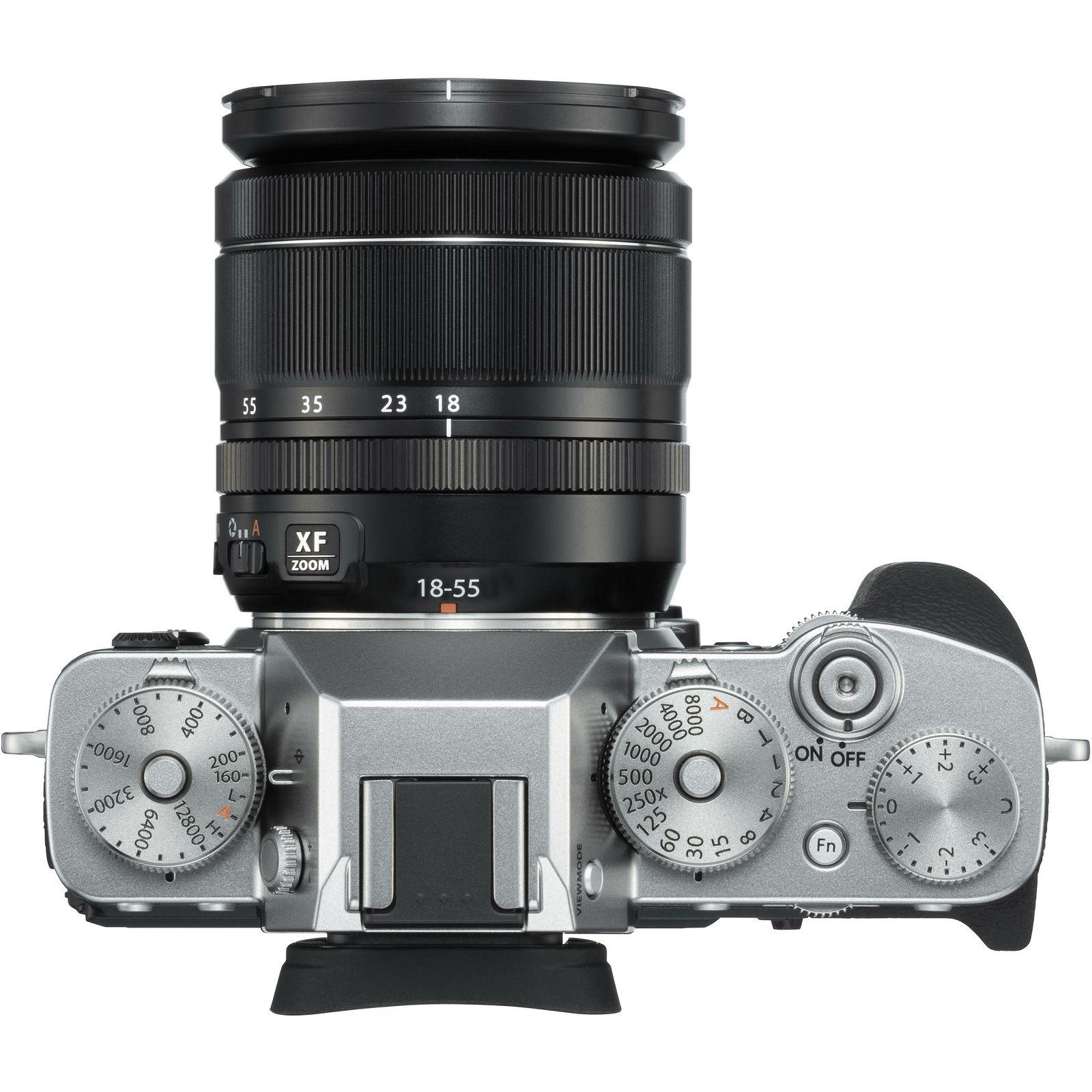 Fujifilm X-T3 + 18-55 KIT Silver srebreni digitalni mirrorless fotoaparat s  objektivom XF 18-55mm f/2 8-4 R LM OIS Fuji Finepix XT3
