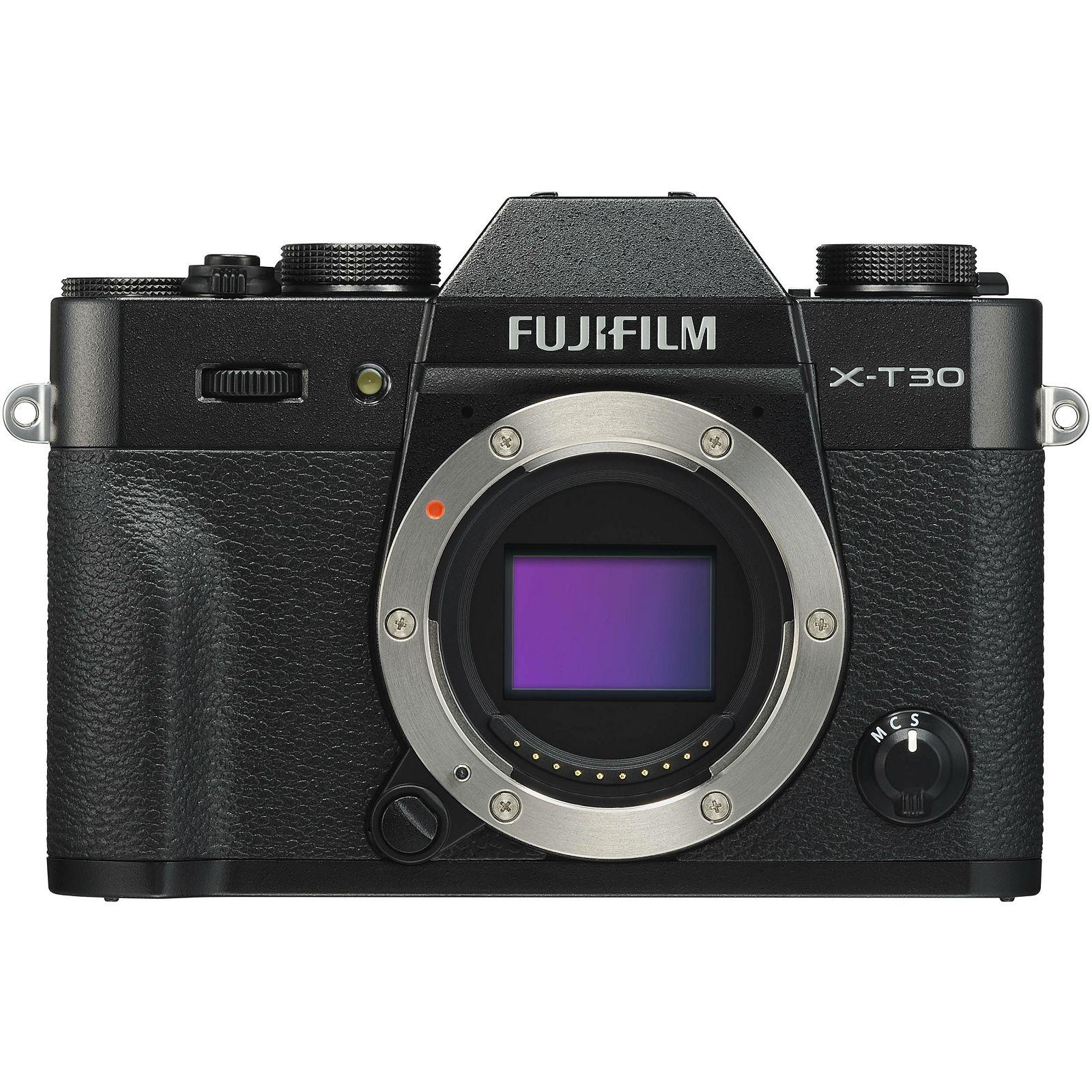 Fujifilm X-T30 Body Black crni Digitalni fotoaparat Mirrorless camera Fuji Finepix (16619566)