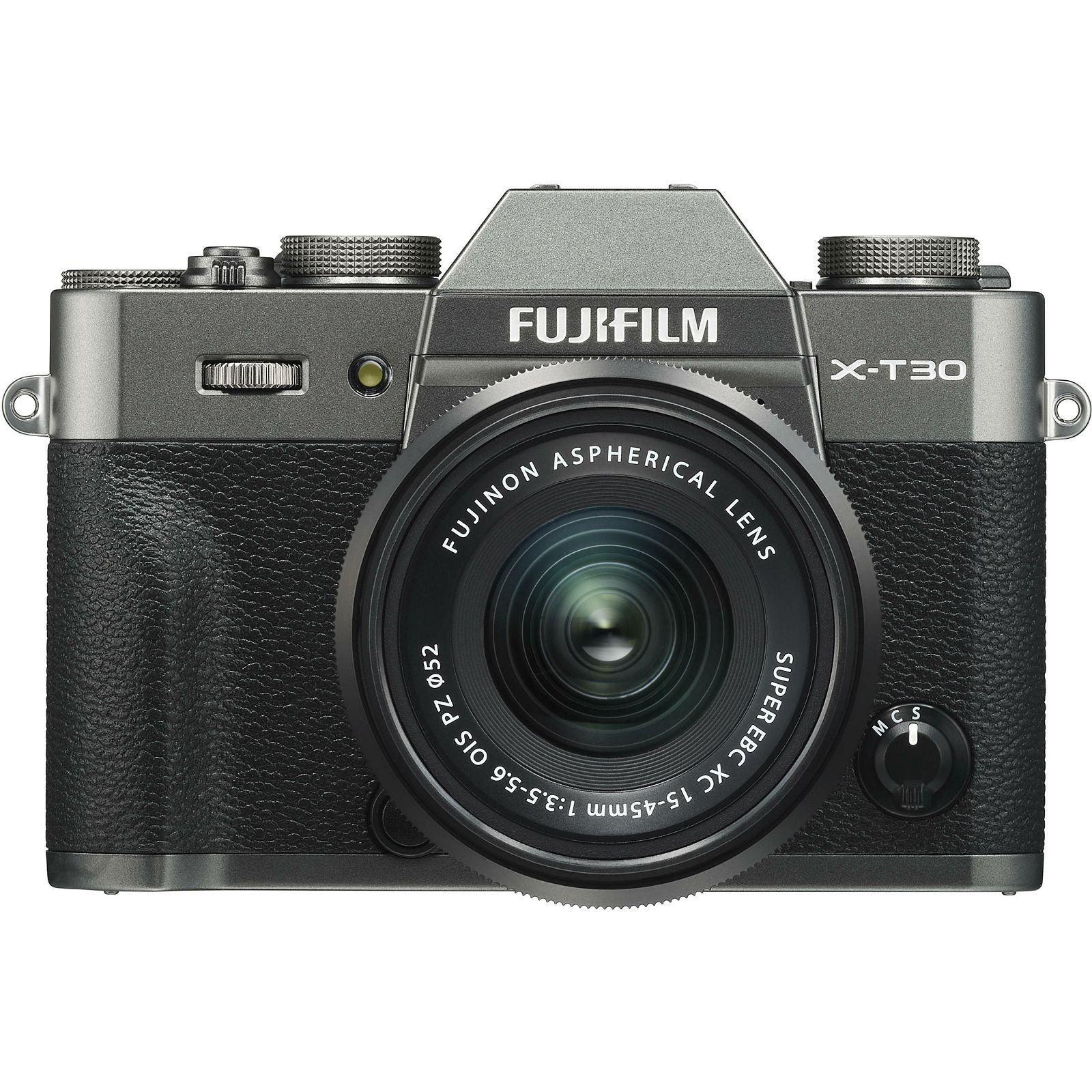 Fujifilm X-T30 + XC 15-45 f/3 5-5 6 OIS PZ KIT Charcoal Gray