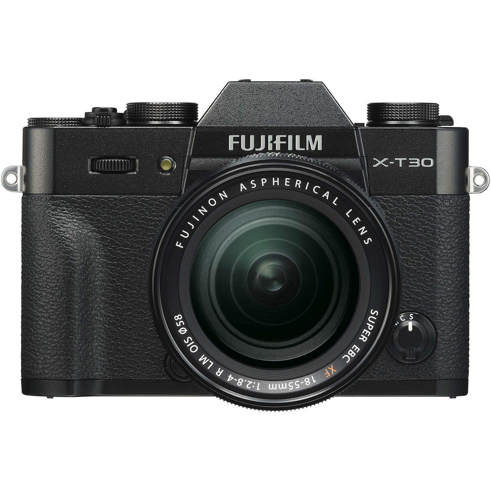 Fujifilm X-T30 + XF 18-55 f2.8-4 R LM OIS Black crni digitalni mirrorless fotoaparat s objektivom 18-55mm Fuji (16619982)