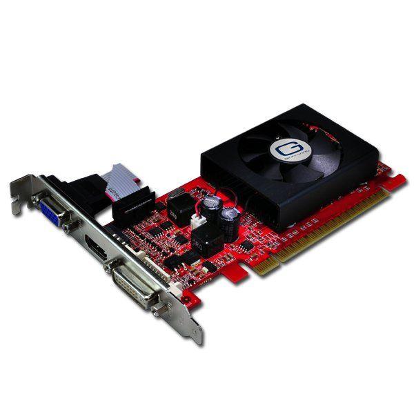 GAINWARD Video Card GeForce 8400 GS DDR3 1GB/64bit, 567MHz/500MHz, PCI-E 2.0 x16, HDTV,HDMI,DVI, VGA Cooler, Retail
