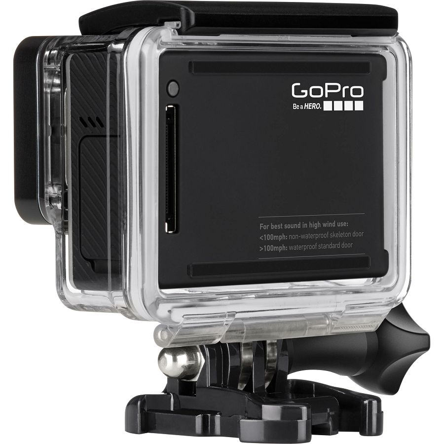 Gopro Hero4 Black Edition Surf Chdsx 401 Eu Sportska Suction Cup Mount And Quick Release Aucmt 302 Akcijska Kamera Ultra Wide 4k
