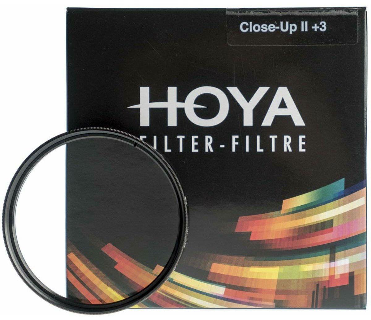 Hoya Close Up +3 II HMC macro filter 37mm