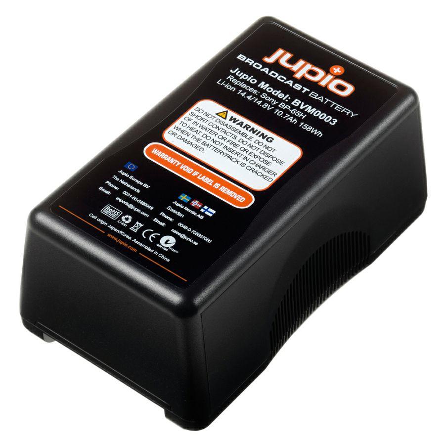 Jupio BVM0003 10400mAh 158Wh V-Mount battery LED Indicator 14.4v Broadcast battery video baterija