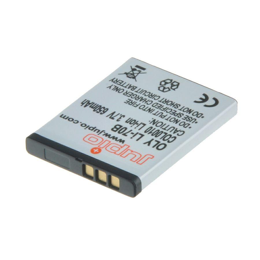 Jupio Li-70B 650mAh Lithium-Ion Battery Pack baterija za Olympus D-705, D-710, D-715, FE-4020, FE-4040, FE-5040, VG-110, VG-120, VG-130, VG-140, VG-145, VG-150, VG-160, VG-110, VG-120, VG-130, VG-140,