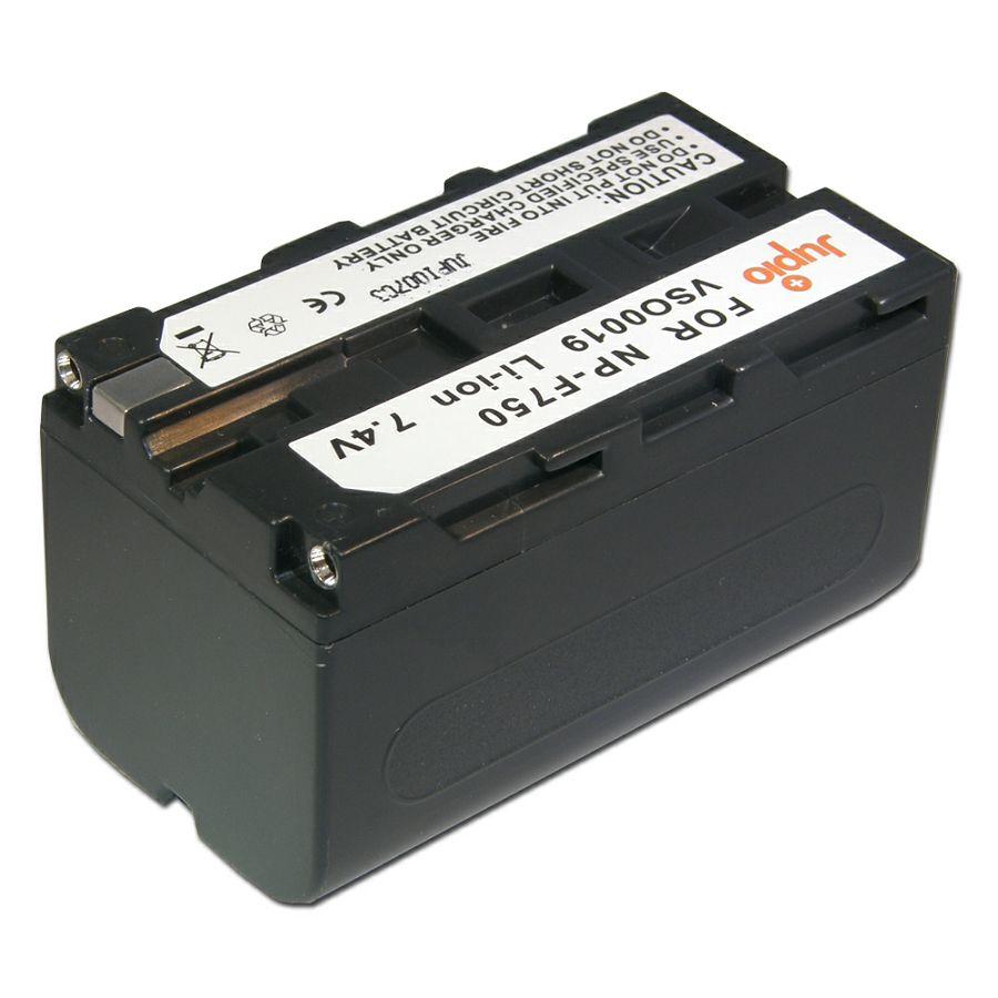 Jupio NP-F750 NP-F730 4000mAh 7.2V baterija za Sony, Atomos, Aputure s NP-Fxxx prihvatom NP-F330, NP-F530, NP-F550, NP-F730, NP-F750, NP-F770, NP-F750SP, NP-F930, NP-F950, NP-F960, NP-F970, NP-F975