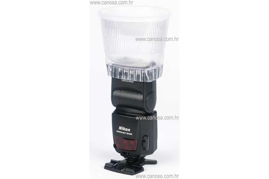 Lambency Lightsphere bounce difuzor C4 softbox 430EZ, 550EX, 580EX, YN565EX, YN568EX II