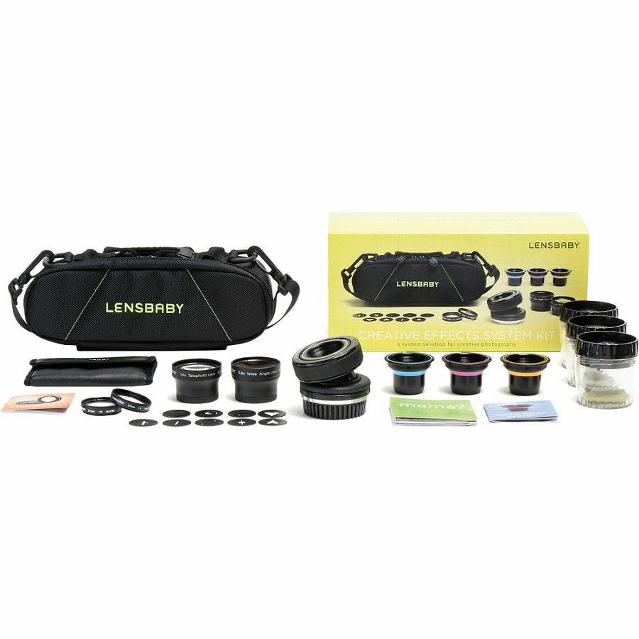 Lensbaby Creative Effects System Kit za Nikon fotoaparat, LB-KITO2