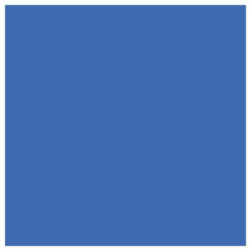 Linkstar papirnata kartonska pozadina 2,75x11m 58 Chroma Blue plava Background Roll Paper studijska foto pozadina u roli 2.75x11m
