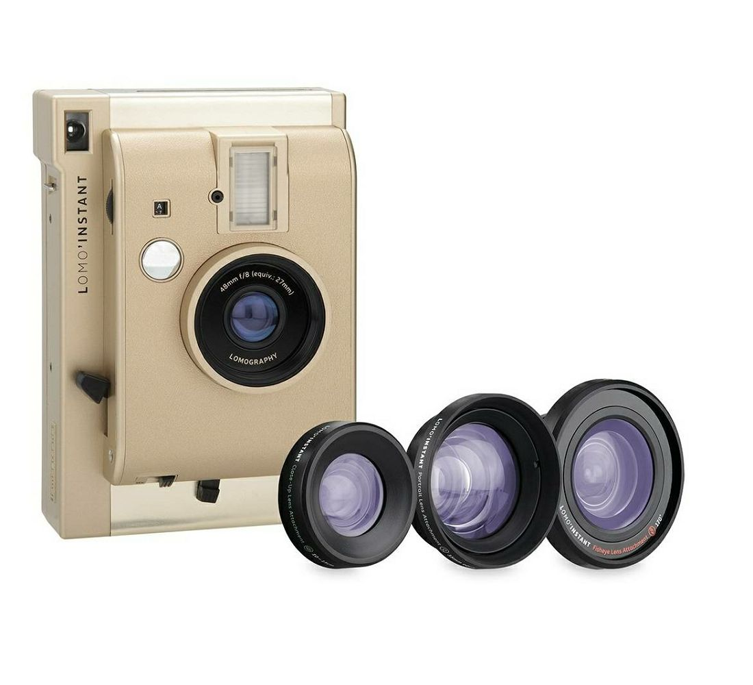 Lomography Lomo'Instant Yangon Edition Combo (LI800AU) polaroidni fotoaparat s trenutnim ispisom fotografije - LOMO PROMO