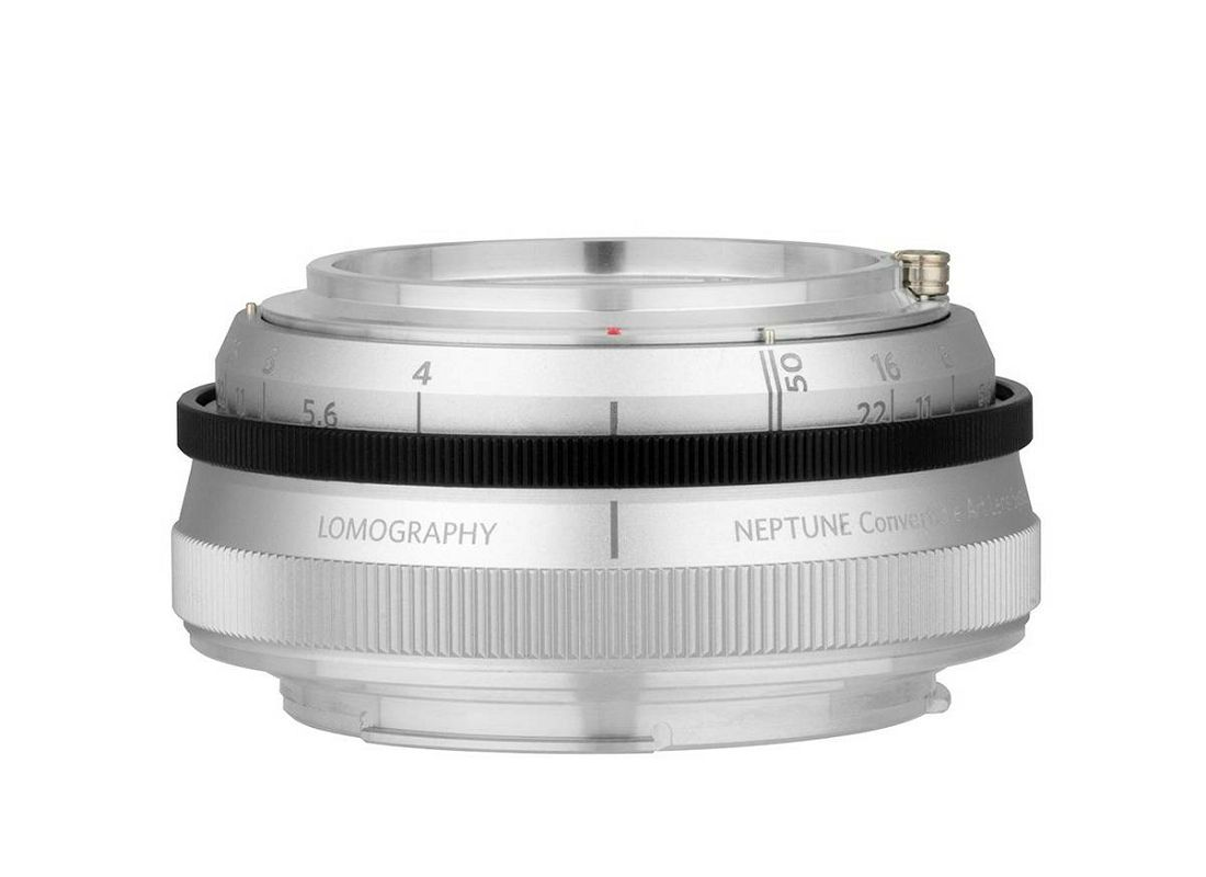 Lomography Neptune Convertible Art Lens System Lens Base Silver baza objektiva za Nikon FX (Z340NBASE)