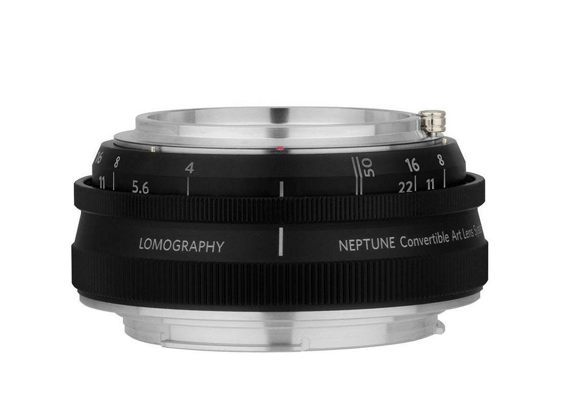 Lomography Neptune Convertible Art Lens System Lens Base Black baza objektiva za Nikon FX (Z350NBASE)