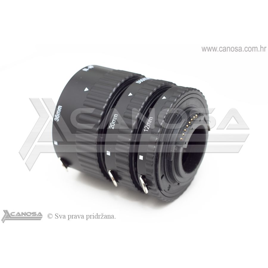 Meike AF macro prstenovi auto fokus za Sony Alpha DSLR extension tube