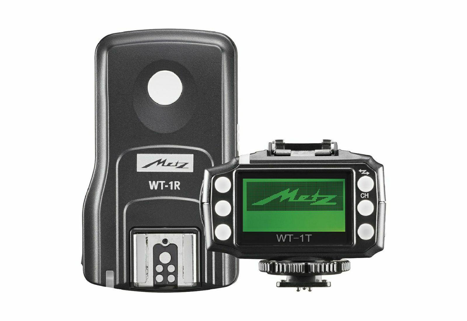 Metz WT-1 TTL HSS KIT komplet odašiljač + prijemnik za Canon Flash wireless Trigger set okidača za bljeskalicu